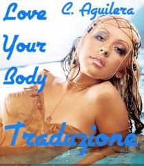traduzione testo your body aguilera