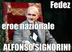Alfonso Signorini eroe nazionale (Fedez ft. Elio) testo video