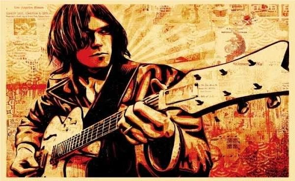 neil young hot