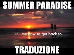 summer paradise testo traduzione