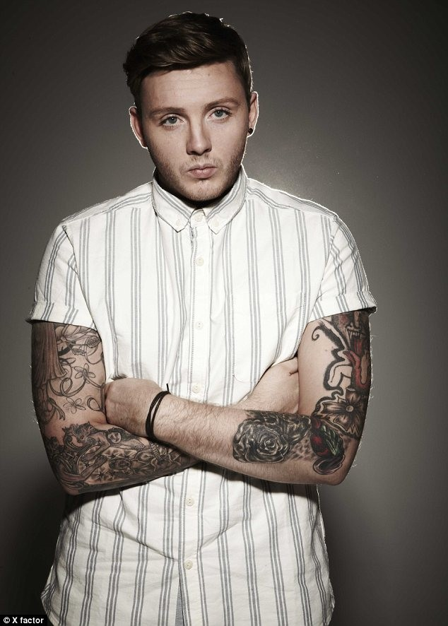 james arthur hot image