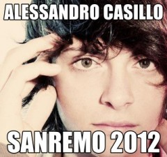 alessandro casillo - vincitore - sanremo 2012