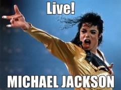 michael jackson live