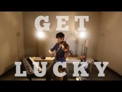 Cover di Get Lucky fatta con il violino