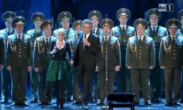 sanremo 2013 toto cotugno armata rossa