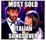 le canzoni italiane più vendute di sempre