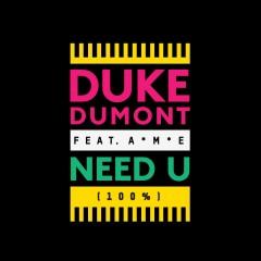 Duke Dumont feat. A*M*E  Need U (100%) testo traduzione