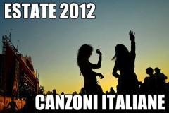 canzoni italiane estate 2012