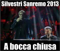 A bocca chiusa Daniele Silvestri testo Sanremo 2013 video