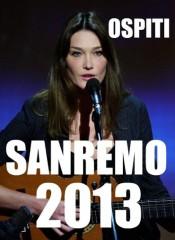 Gli ospiti del 63° Festival della canzone italiana: l'incubo Carla Bruni