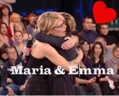 Emma Marrone e Maria De Filippi amanti