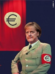 angela merkel euro