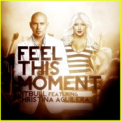 feel this moment christina aguilera ft. pitbull traduzione testo video