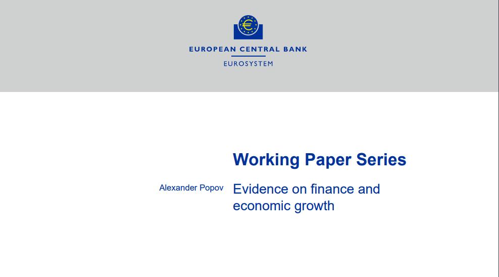 la finanza porta alla crescita dell' economia reale